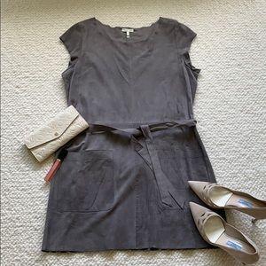 Joie 100% Goat Leather Dress Size L